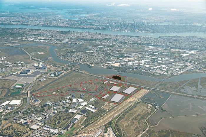 Kingsland Site Aerial