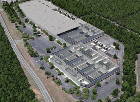 Sentinel data center aerial view